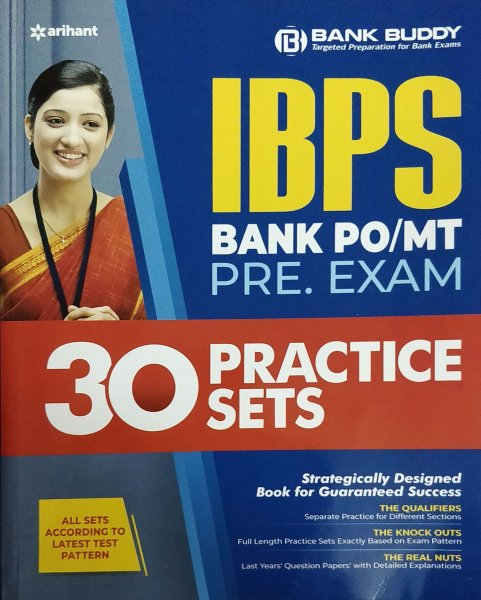 ARIHANT BANK BUDDY IBPS BANK PO PRE EXAM 30 PRACTICE SETS