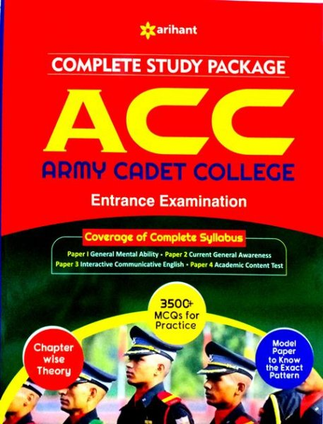 Arihant ACC Entrance Examination Book
