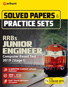 Arihant RRB Je Solved and Practise Sets