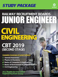 Arihant RRB JE Civil Engineer Study Package