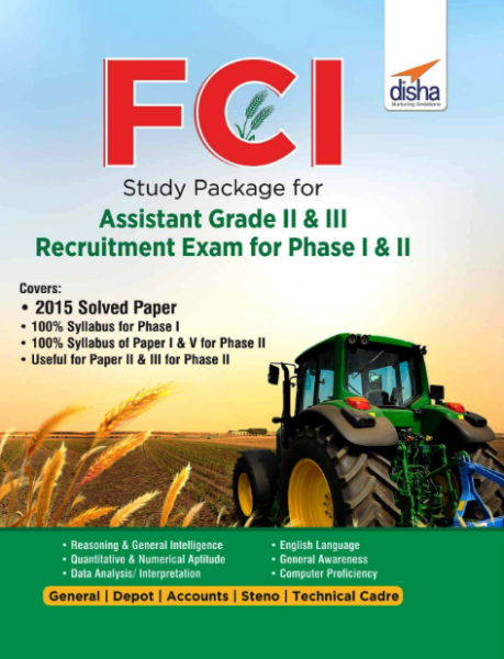 Disha Fci Assistant Grade Ii And Iii Guide (E)