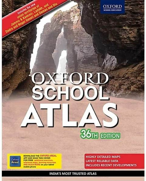 OXFORD SCHOOL ATLAS English Edition