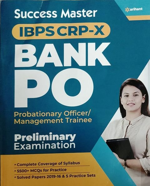ARIHANT SUCCESS MASTER IBPS CLERK PRE EXAMINATIONS (e)