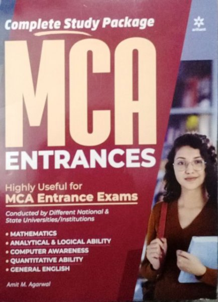 ARIHANT MCA ENTRANCES  By Amit M. Agrawal