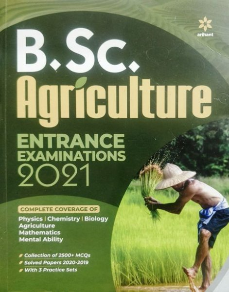 Arihant B.Sc. Agriculture Entrance Examination Book