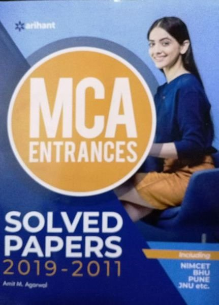 ARIHANT MCA ENTRANCES SOLVED PAPER By Amit M. Agarwal