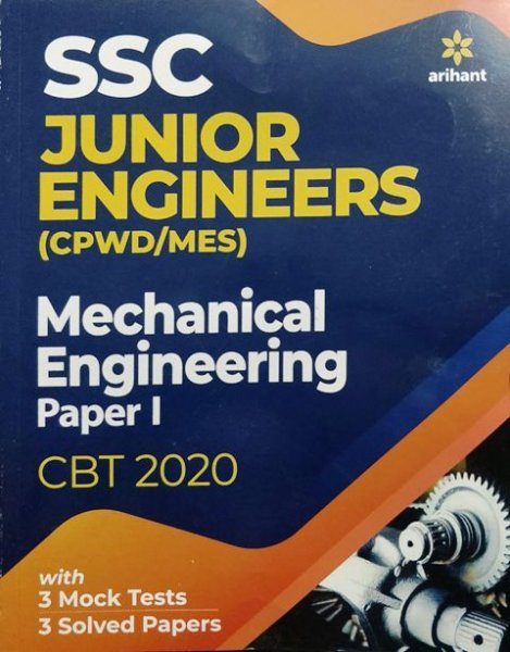 Arihant SSC Junior Engineers Mechanical Engineering Paper 1