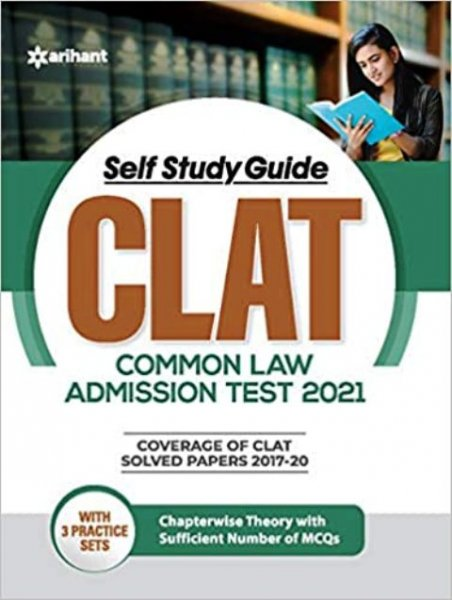 Arihant Self Study Guide CLAT Common Law Admission Test