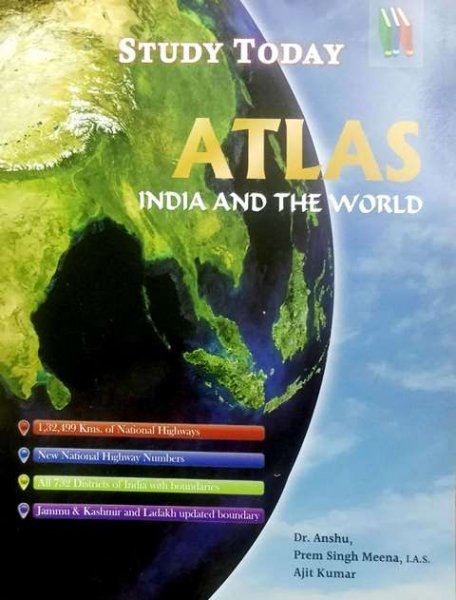Study Today Atlas India and The World