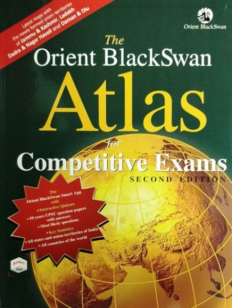 The Orient BlackSwan Atlas for Competitive Exam