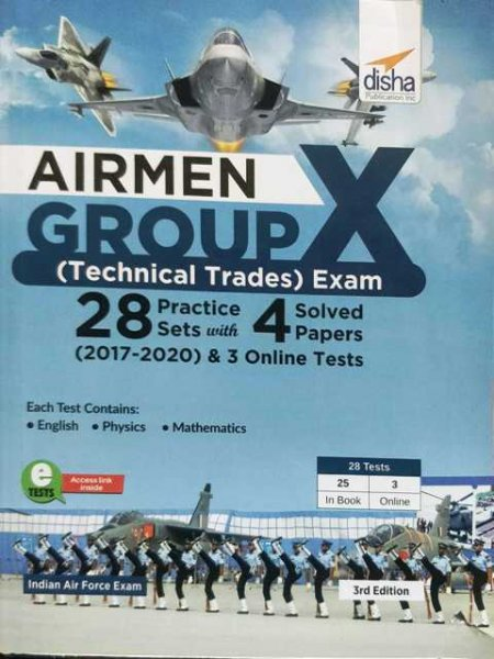 Disha Airmen Group X Exam Practice Sets 28 Practice Paper 4 Solved Paper