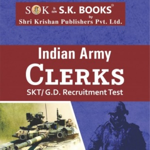 Indian Army Clerks SKT/GD Complete Guide Book English Medium