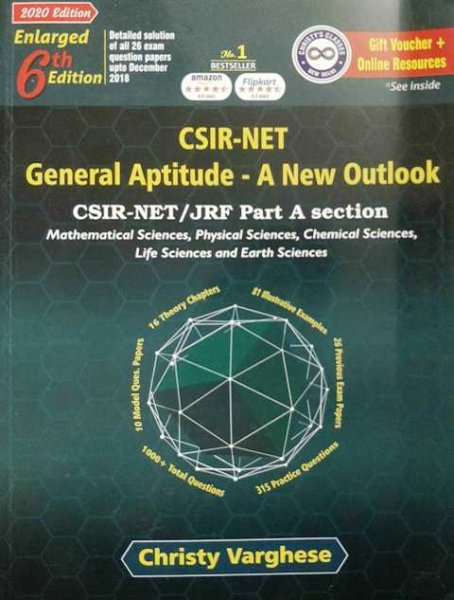 CHRISTY VARGHESE CSIR NET GENERAL APTITUDE A NEW OUTLOOK