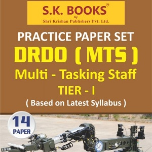DRDO Multi Tasking Staff ( MTS ) Recruitment Exam Practice Paper Set English Medium