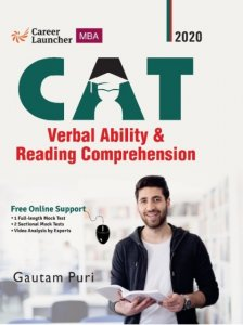GKP Career Launcher MBA CAT Verbal Ability and Reading Comprehension by Gautam Puri