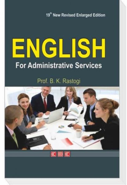 BK RASTOGI ENGLISH FOR ADMINISTRATIVE SERVICES 16th edition