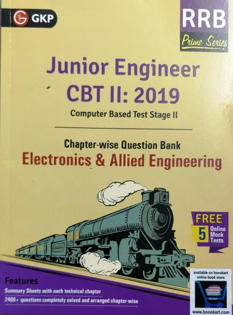 GKP RRB JE ELECTRONICS & ALLIED ENGINEERING CBT II