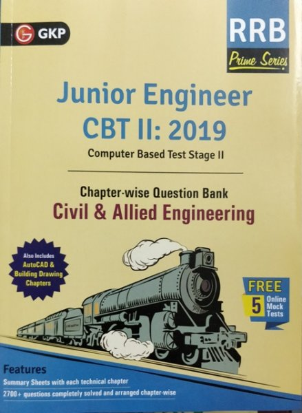 GKP RRB JE CIVIL & ALLIED ENGINEERING CBT II