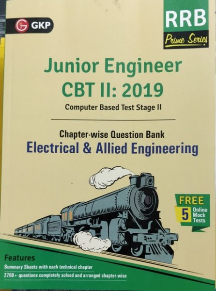 GKP RRB JE ELECTRICAL & ALLIED ENGINEERING CBT II