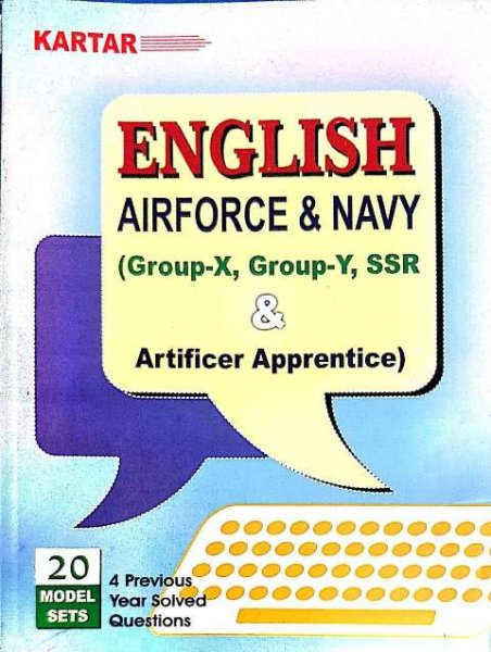 KARTAR AIRFORCE & NAVY ENGLISH