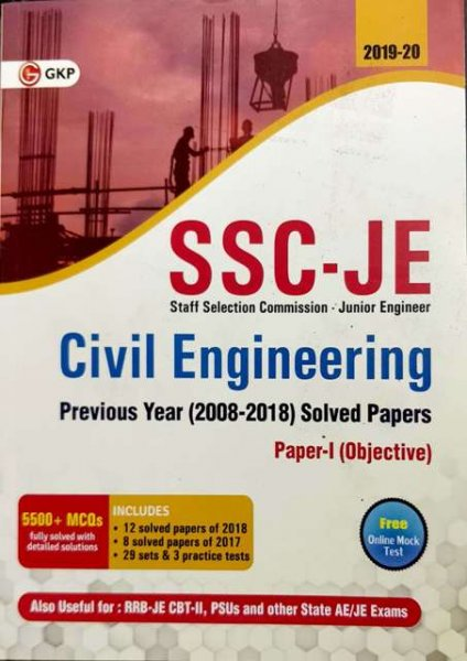 GKP SSC JE CIVIL ENGINEERING