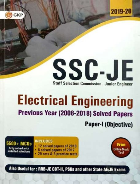GKP SSC JE ELECTRICAL ENGINEERING