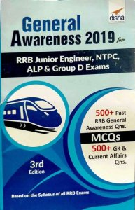 DISHA GENERAL AWARENESS 2019 RRB JUNIOR ENGINEER NTPC ALD AND GROUP D EXAMS