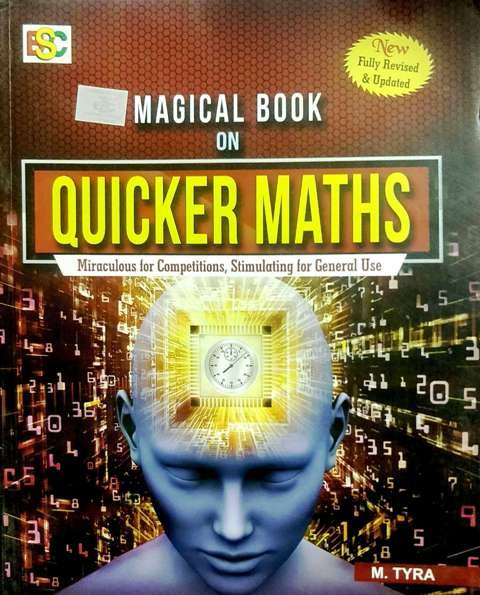 BSC magical book on Quicker maths m. Tyra k kundan ENGLISH EDITION