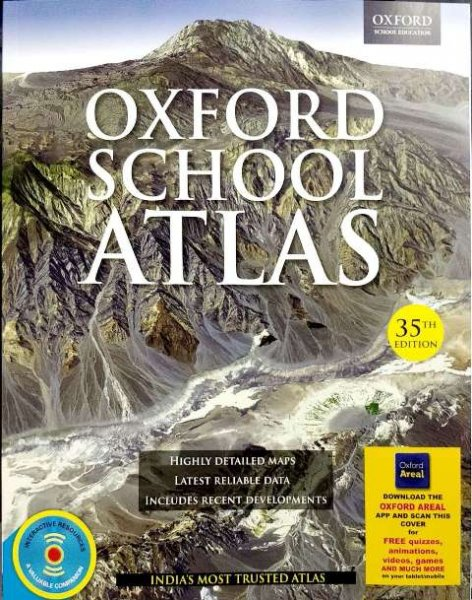 OXFORD SCHOOL ATLAS 35th ATLAS (ENGLISH)