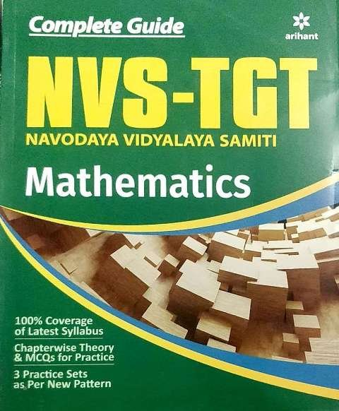 ARIHANT NVS TGT MATHS BOOK