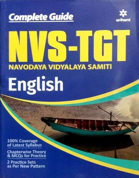 ARIHANT NVS TGT ENGLISH BOOK