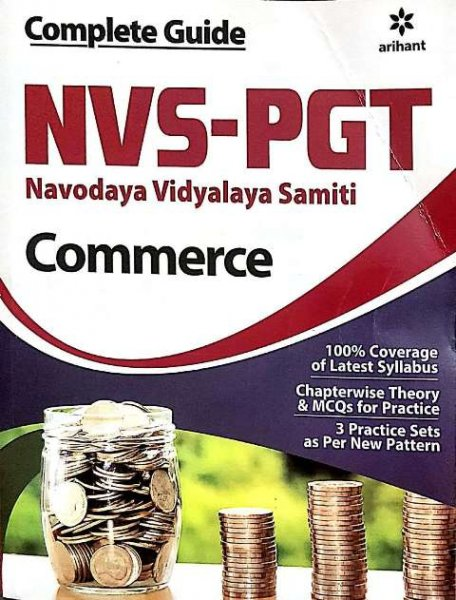 ARIHANT NVS PGT COMMERCE BOOK
