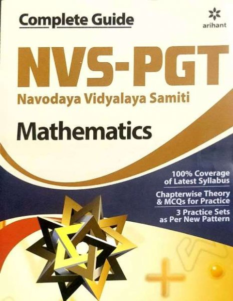 ARIHANT NVS PGT MATHEMATICS BOOK