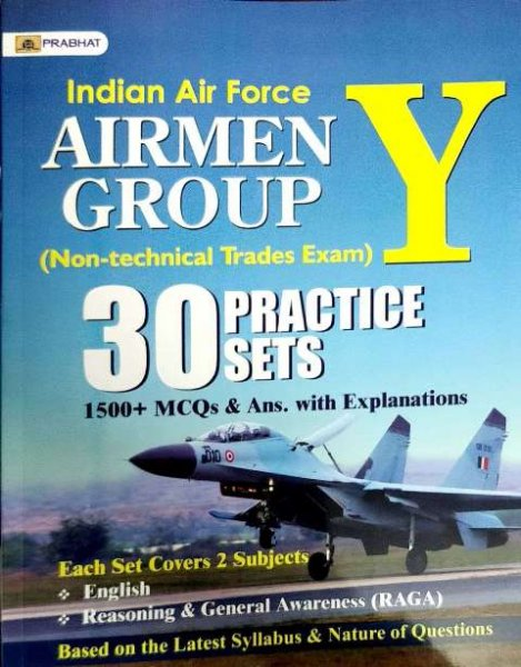 PRABHAT INDIAN AIR FORCE AIRMEN Y GROUP PRACTICE SETS