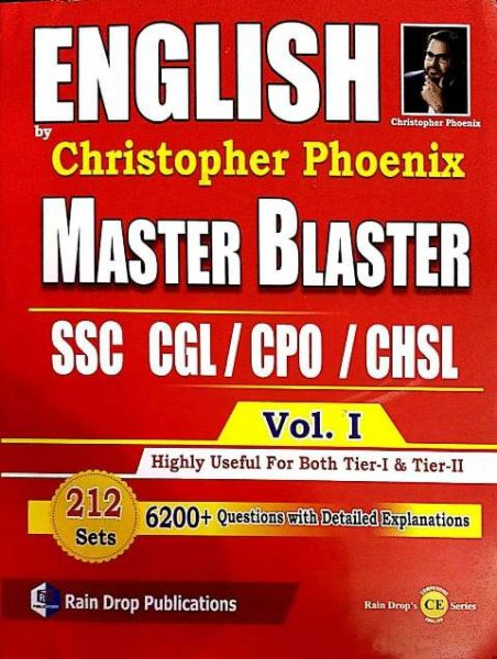 ENGLISH BY CHRISTOPHER PHOENIX MASTER BLASTER SSC CGL CPO CHSL VOL 1