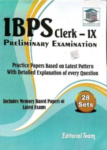 MB IBPS CLERK PRELIMINARY EXAMINATIONS PRACTICE PAPERS 28 SETS