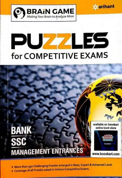 ARIHANT PUZZLES FOR COMPETITIVE EXAMS BY AMOGH GOEL PRIYA MITTAL