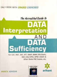 ARIHANT DATA INTERPRETATION AND DATA SUFFICIENCY by  ANANTA ASHISHA