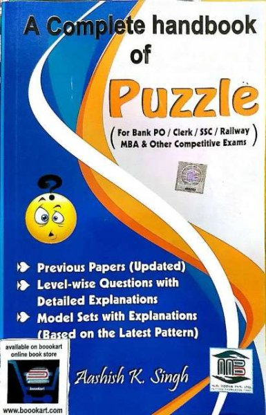 MB A COMPLETE HANDBOOK OF PUZZLE BY AASHISH K SINGH