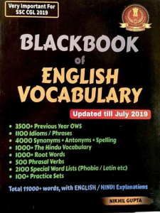 BLACKBOOK OF ENGLISH VOCABULARY BY NIKHIL GUPTA
