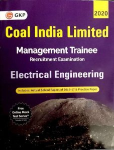 GKP Coal India Limited Management Trainee Electrical Engineering