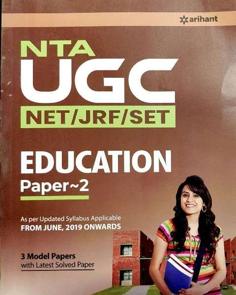 Arihant NTA UGC NET EDUCATION Paper 2 by Nandini Sharma Renu Kulshreshtha