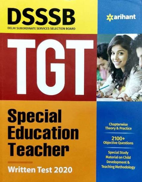Arihant DSSSB TGT Special Education Teacher Complete Study Material