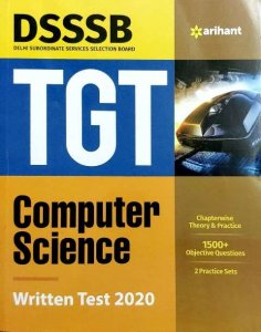 Arihant DSSSB TGT Computer Science Written test 2020