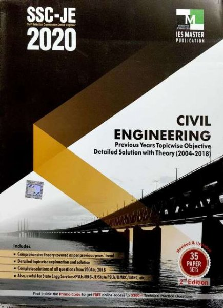 IES MASTER SSC JE CIVIL ENGINEERING BOOK