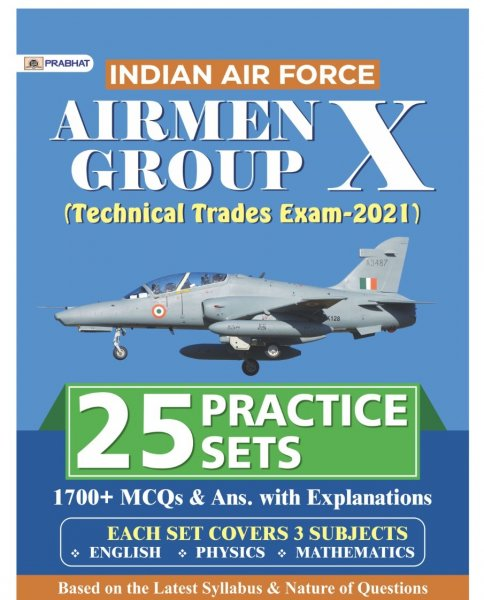 Prabhat Airman X Group Practice Set 25 English Edition