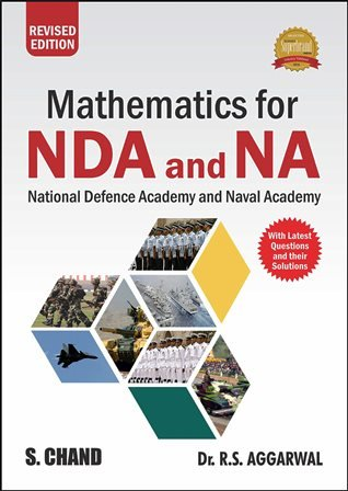 Mathematics for NDA NA written by R S Agarwal