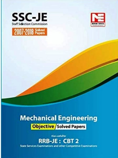 Made easy SSC JE RRB STAGE 2 MECHANICAL ENGINEERING