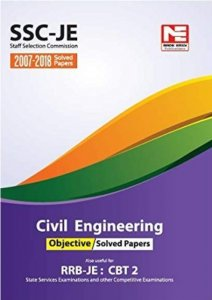 MADE EASY SSC JE (RRB JE CBT 2) CIVIL ENGINEERING OBJECTIVE SOLVED PAPER