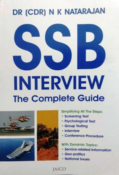 Dr N K Natarajan SSB Interview The Complete Guide